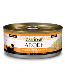 Canidae Adore Chicken & Carrots 5.5 oz Case