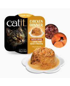 Catit Chicken Dinner Liver & Swt Potato 2.8 oz