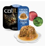 Catit Catit Chicken Dinner Tuna & Kale 2.8 oz