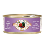 Fromm Family Foods LLC Fromm 4Star Cat Beef & Venison 5.5 oz