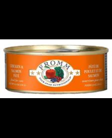 Fromm 4Star Cat Chicken & Salmon 5.5 oz Case