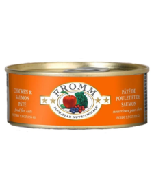 Fromm 4Star Cat Chk/Salm 5.5 oz
