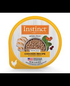 Instinct Cat Minced Chicken 3.5 oz