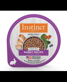 Instinct Cat Minced Rabbit 3.5 oz