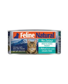 Feline Natural Cat Beef & Hoki 3 oz