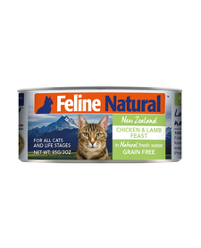 Feline Natural Cat Chicken & Lamb 3 oz
