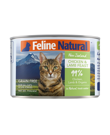 K9 Natural Cat Chicken/Lamb 6 oz Case