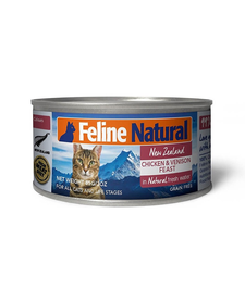 Feline Natural Cat Chicken & Venison 3 oz
