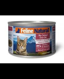 Feline Natural Cat Chicken & Venison 6 oz