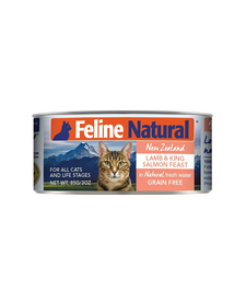 Feline Natural Cat Lamb & Salmon 3 oz