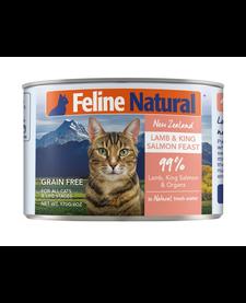 Feline Naturals Lamb & Salmon 6 oz