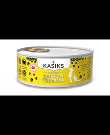 Kasiks Cat Cage Free Chicken 5.5 oz Case