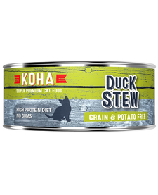 Koha Cat Duck Stew 5.5 oz Case