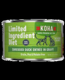 Koha Cat LID Shredded Duck 5.5 oz Case