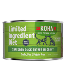 Koha Cat LID Shredded Duck 5.5 oz