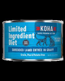 Koha Cat LID Shredded Lamb 5.5 oz Case