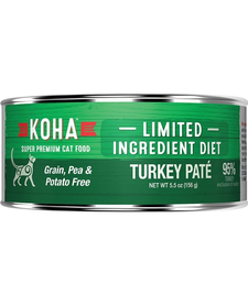 Koha Cat LID Turkey Pate 5.5 oz Case