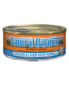 Natural Balance Cat Chk/Liver 5.5 oz Case