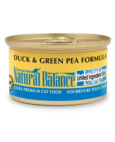 Natural Balance Cat Duck/Pea 3oz