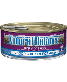 Natural Balance Cat Indoor 5.5 oz Case