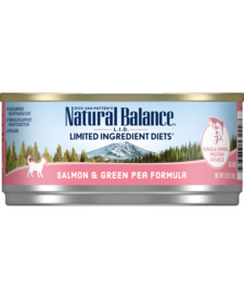 Natural Balance Cat LID Salmon 5.5 oz Case