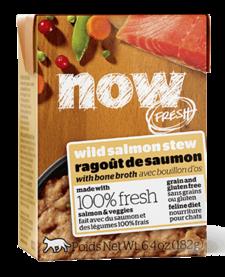 Now Cat GF Salmon Stew 6.4 oz