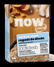 Now Cat GF Turkey Stew 6.4 oz