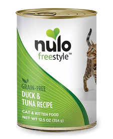 Nulo Freestyle Cat Duck & Tuna 12.5 oz Case