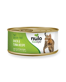 Nulo Freestyle Cat Duck/Tuna 5.5 oz Case