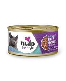 Nulo Freestyle Cat Minced Beef & Mackerel 3 oz