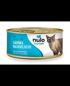 Nulo Freestyle Cat Salmon & Mackerel 5.5 oz