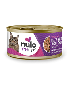 Nulo Freestyle Cat Shred Beef/Trout 3 oz Case