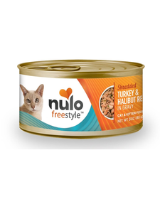 Nulo Freestyle Cat Shred Turkey/Halibut 3 oz