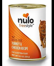 Nulo Freestyle Cat Turkey & Chicken 12.5 oz