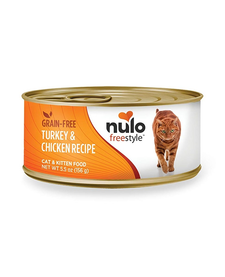 Nulo Freestyle Cat Turkey & Chicken 5.5 oz