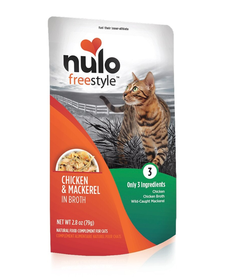 Nulo Freestyle Cat Chicken & Mackerel 2.8 oz