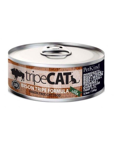 PetKind Cat Bison Tripe 5.5 oz Case