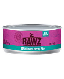 Rawz 96% Chicken & Herring Pate 5.5 oz Case