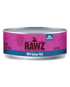 Rawz 96% Salmon Pate 5.5 oz Case