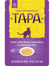 Tapa Chicken Cheese 1.76 oz Case