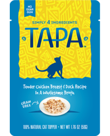 Tapa Cat Chicken/Duck 1.76 oz Case