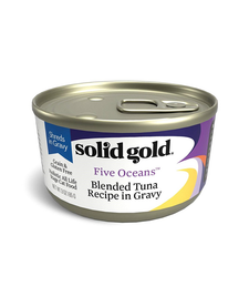 Solid Gold Cat Blended Tuna 3 oz Case