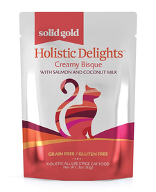 Solid Gold Cat Holistic Salmon Bisque 3 oz