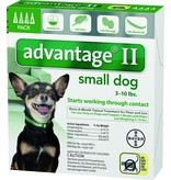 Advantage (Bayer) Advantage II Small Dog 3-10lb
