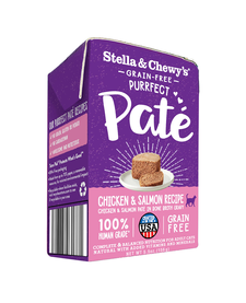 Stella & Chewy Cat Chicken & Salmon Pate 5.5 oz Case