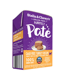 Stella & Chewy Cat Turkey Pate 5.5 oz Case