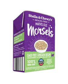 Stella & Chewy Cat Chicken Morsel 5.5 oz Case