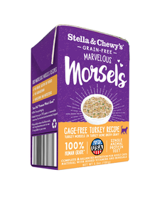 Stella & Chewy Cat Turkey Morsel 5.5 oz Case