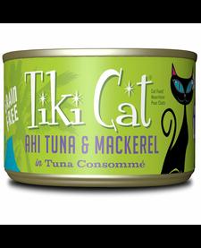 Tiki Cat Ahi Tuna & Mackerel 6 oz