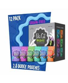 Tiki Cat Velvet Mousse 2.8 oz Variety Pack